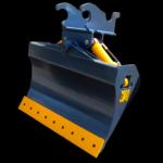 Excavator chuck  blades
